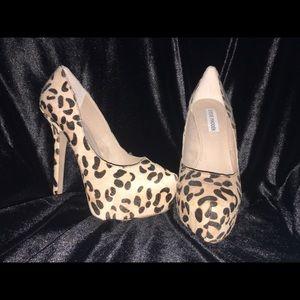 Steve Madden animal print/leopard print heels